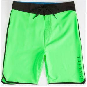 NWOT O'Neill Santa Cruz Hyperfreak Board Shorts
